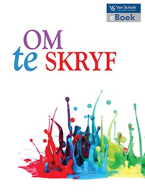 cover image of Om Te Skryf