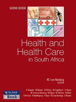 cover image of Health and Health Care In South Africa