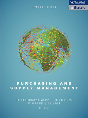 cover image of Purchasing and Supply Management