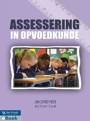 cover image of Assessering In Opvoedkunde