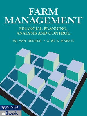 cover image of Farm Management: Financial Planning, Analysis and Control