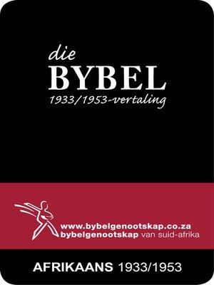 cover image of Die Bybel