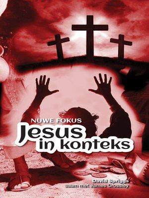 cover image of Jesus in konteks
