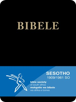 cover image of Bibele, 1909/1961 Version