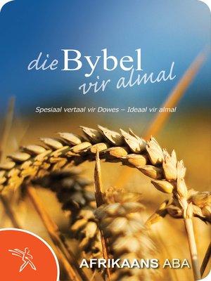 cover image of Die Bybel vir almal