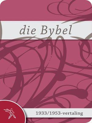 cover image of Die Bybel vir vroue