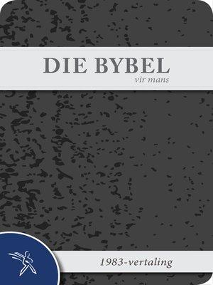 cover image of Die Bybel vir mans