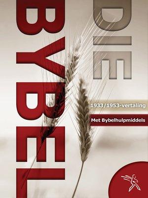 cover image of Die Bybel met Bybelstudiemateriaal