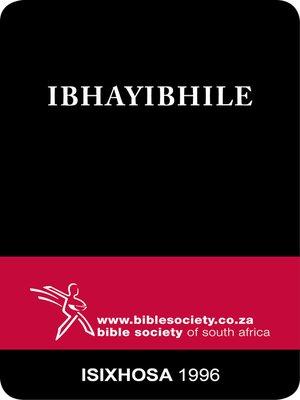 cover image of Ibhayibhile, 1996 Translation