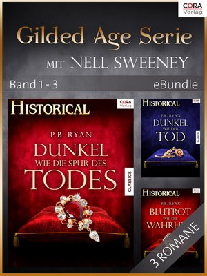 cover image of Gilded Age Serie mit Nell Sweeney--Band 1-3