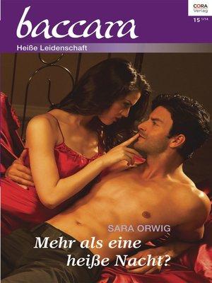 cover image of Mehr als eine heiße Nacht?