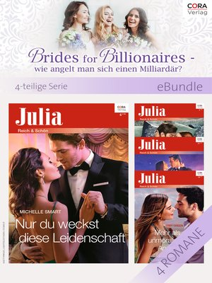 cover image of Brides for Billionaires--wie angelt man sich einen Milliardär?--4-teilige Serie