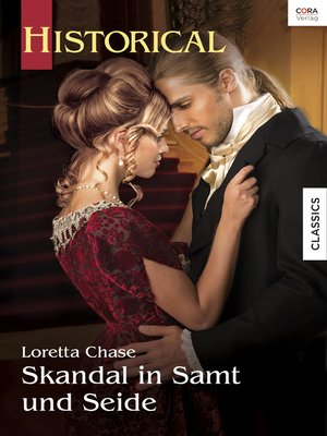 cover image of Skandal in Samt und Seide