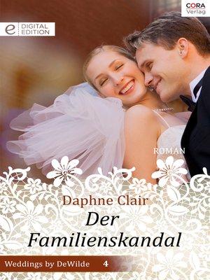 cover image of Der Familienskandal