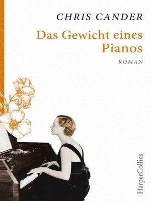 cover image of Das Gewicht eines Pianos