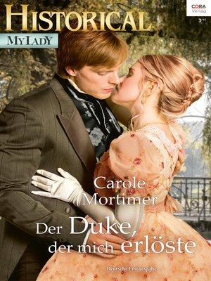 cover image of Der Duke, der mich erlöste