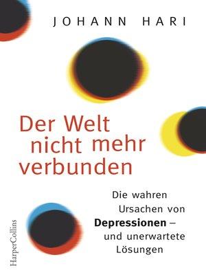 cover image of Der Welt nicht mehr verbunden