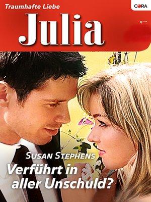 cover image of Verführt in aller Unschuld?