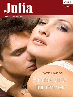 cover image of Einmal und für immer