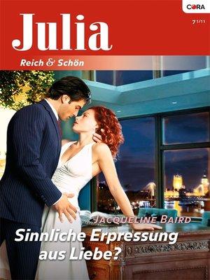 cover image of Sinnliche Erpressung aus Liebe?