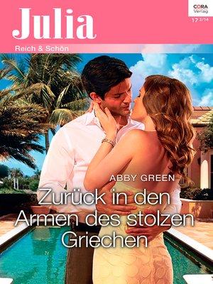 cover image of Zurück in den Armen des stolzen Griechen