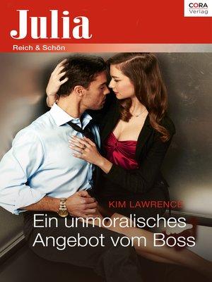 cover image of Ein unmoralisches Angebot vom Boss
