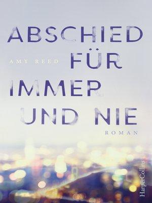cover image of Abschied für immer und nie