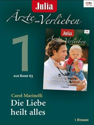 cover image of Julia Ärzte zum Verlieben Band 63 -Titel 1
