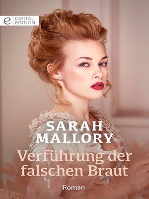 cover image of Verführung der falschen Braut