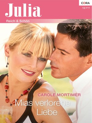 cover image of Mias verlorene Liebe