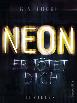 cover image of NEON--Er tötet dich
