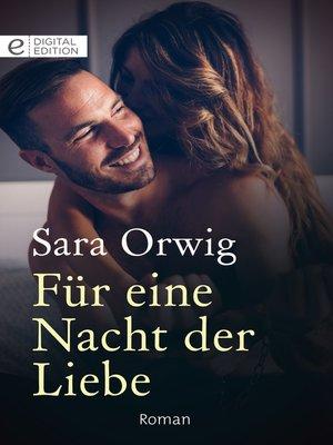 cover image of Für eine Nacht der Liebe