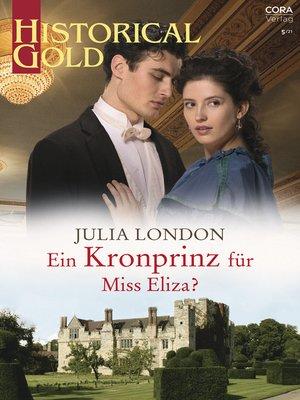cover image of Ein Kronprinz für Miss Eliza?