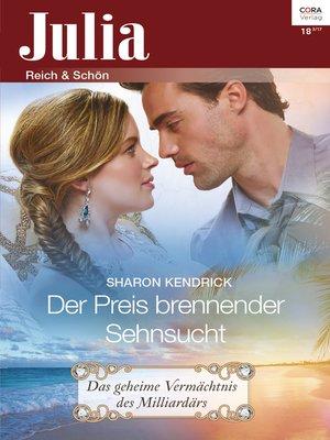 cover image of Der Preis brennender Sehnsucht