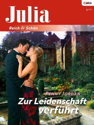 cover image of Zur Leidenschaft verführt