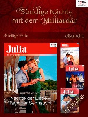 cover image of Sündige Nächte mit dem Milliardär--4-teilige Serie