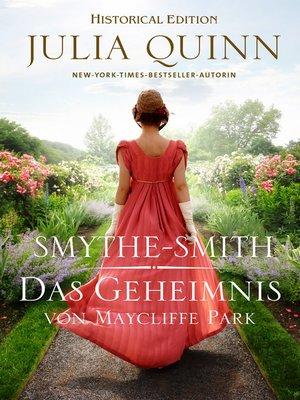 cover image of Das Geheimnis von Maycliffe Park