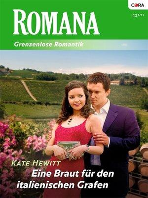 cover image of Eine Braut für den italienischen Grafen