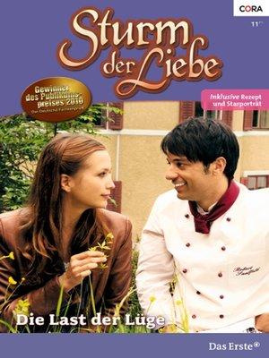 cover image of Die Last der Lüge