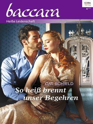 cover image of So heiß brennt unser Begehren