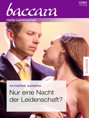 cover image of Nur eine Nacht der Leidenschaft?