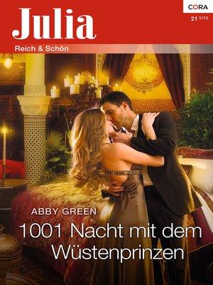 cover image of 1001 Nacht mit dem Wüstenprinzen