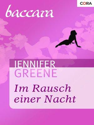 cover image of Im Rausch einer Nacht