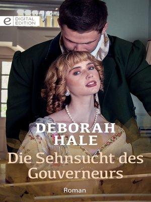 cover image of Die Sehnsucht des Gouverneurs