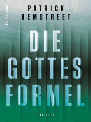 cover image of Die Gottesformel