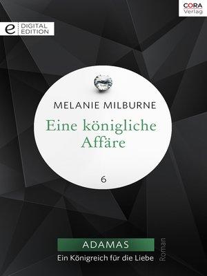 cover image of Eine königliche Affäre