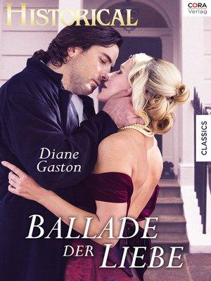 cover image of Ballade der Liebe