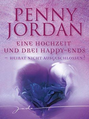 cover image of Heirat nicht ausgeschlossen?