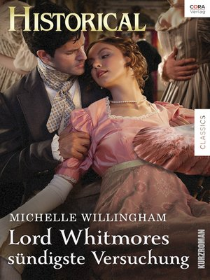 cover image of Lord Whitmores sündigste Versuchung