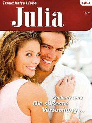 cover image of Die süßeste Versuchung ...